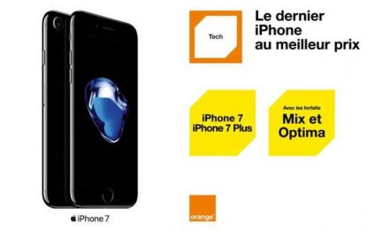L'iPhone 7 et l'iPhone 7 Plus en vente chez Orange Tunisie