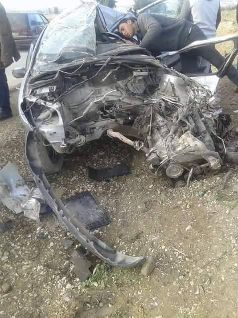 Kef d c s d un l ve dans un accident de la route for Dans keff
