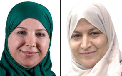 La députée islamiste Asma Jebali triche à l'Assemblée