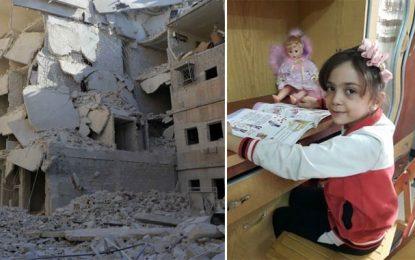 La petite Syrienne Bana est encore en vie et tweete à nouveau