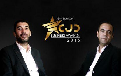 Anis Sahbani et et Ali Kouki, lauréats des CJD Business Awards 2016
