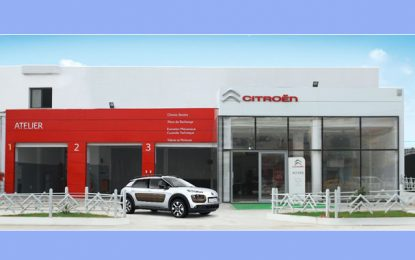 Réouverture du showroom Citroën à Manouba !