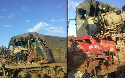 Gafsa : Un mort et 1 blessé dans la collision entre un train et un camion