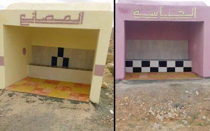 Ghomrassen : Les abris-bus construits par… des bénévoles