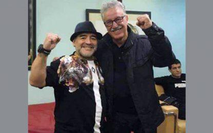 Hammami et Maradona aux funérailles de Castro