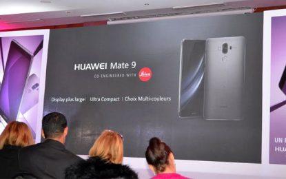 Huawei lance le Mate 9 en Tunisie
