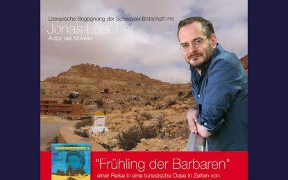 L'écrivain suisse Jonas Lüscher : Une intrigue dans le désert tunisien