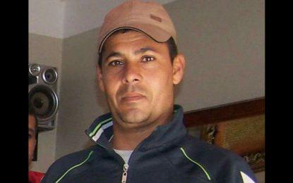 Victime de l'explosition d'une mine, le soldat Ben Mosbah perd une jambe