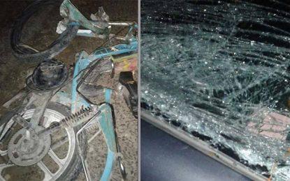 Kébili : Décès d'un motocycliste percuté par une voiture