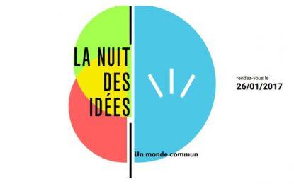 1ère édition de ''La nuit des idées'' : Alors on pense !