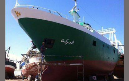 A la recherche d'un bateau de pêche disparu au large de Mahdia