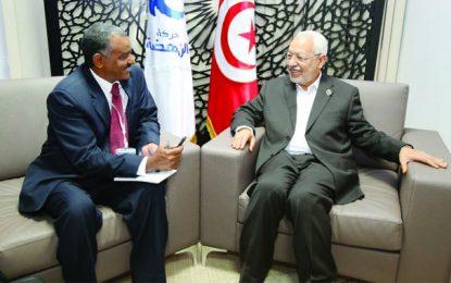 L'hommage de Ghannouchi à Al-Jazeera et aux riyals du Qatar