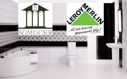Les produits Somocer distribués en France par Leroy Merlin