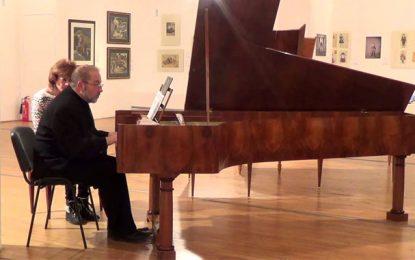 Hammamet : Concert du pianiste bulgare Todor Petrov à Dar Sebastian