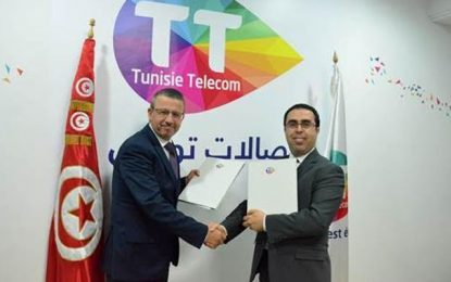 Tunisie Telecom et la Bourse de Tunis signent un partenariat  triennal