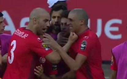 Football – CAN 2017: La Tunisie bat l'Algérie (2-1) et se replace dans la course