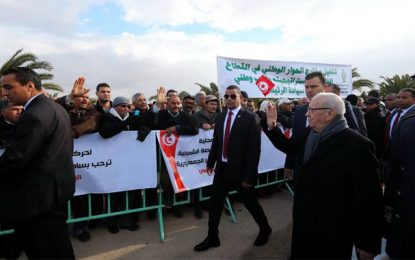 Gafsa: Beji Caïd Essebsi annonce 1000 petits projets en 2017