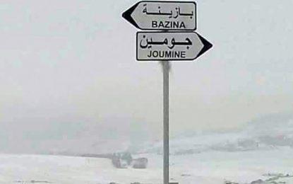 Bizerte : Evacuation de familles à cause de la neige