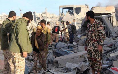 Plus de 200 terroristes tunisiens abattus à Sabratha et Syrte