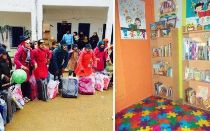 Daffini : Rendre le sourire aux écoliers de Ain Draham