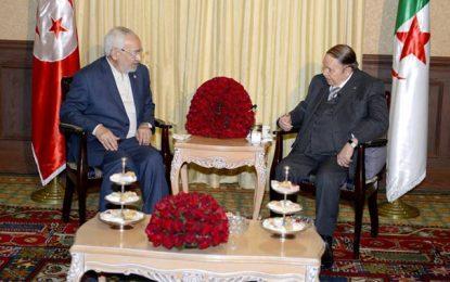 Maghreb: Ghannouchi en Algérie pour la 2e fois en 2 mois