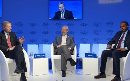 Ghannouchià Davos: «L'islam n'est pas la source du terrorisme»