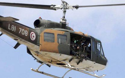 Sfax : Deux blessés dans l'atterrissage forcé d'un hélicoptère militaire