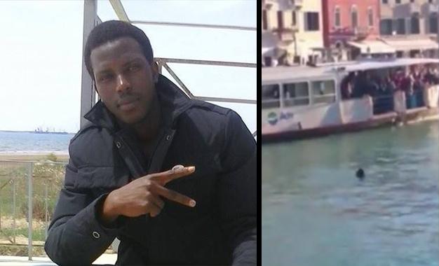 Venise : Noyade d'un immigré sous des regards indifférents [vido ] Italie-venise-décès-réfugié-enquête