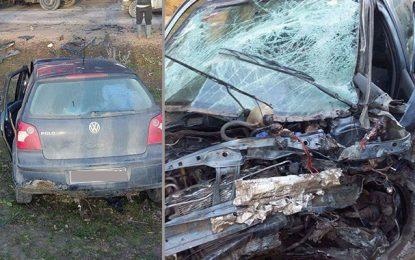 Jendouba : 3 morts et 6 blessés dans un accident