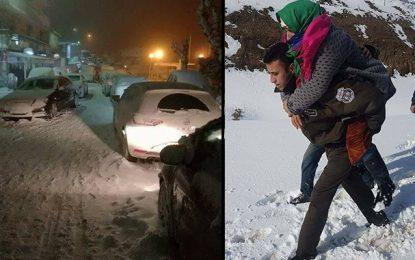 Neige et routes bloquées : Les N° d'urgence