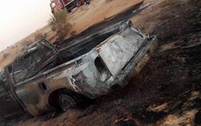 Kairouan : Il est brûlé vif dans son véhicule
