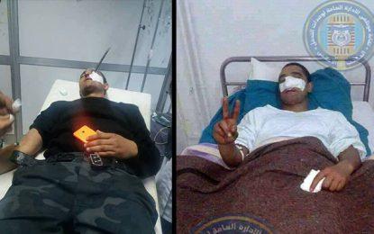 CA-PSG: Karim, le policier blessé, s'en sort courageusement