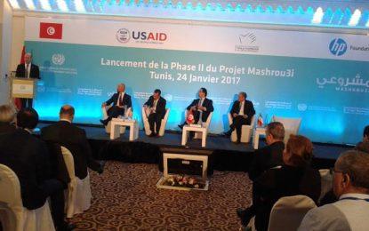 Emploi des jeunes : Démarrage de la 2e phase du projet Mashrou3i