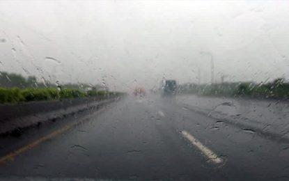 Pluies et vents forts : Les automobilistes appelés à la vigilance