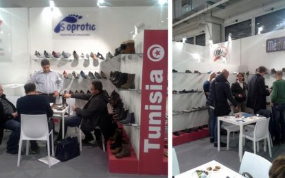 La chaussure tunisienne au salon Expo Riva Schuh à Milan