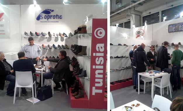 La chaussure tunisienne au salon expo riva schuh milan - Salon de la randonnee ...
