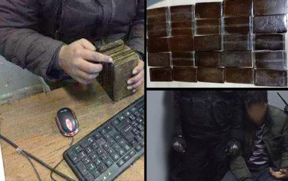 Sfax : Saisie de 50kg de cannabis dans un véhicule de contrebande
