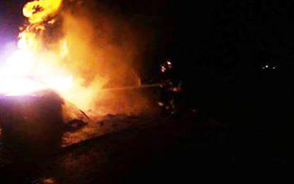 Tataouine : Mort carbonisé dans une voiture transportant du carburant