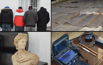 Tunis : Démantèlement d'un réseau de trafic de pièces archéologiques