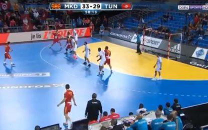 Handball – France 2017 : La Tunisie débute par une défaite