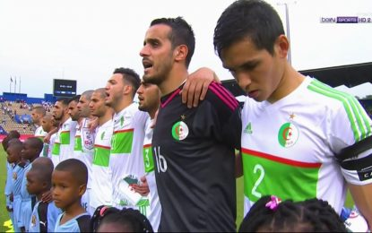 CAN 2017: Algérie-Sénégal en live streaming