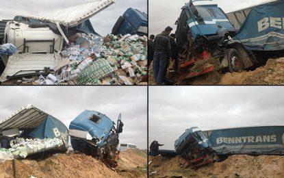 Deux morts et 2 blessés dans un accident à Gabès