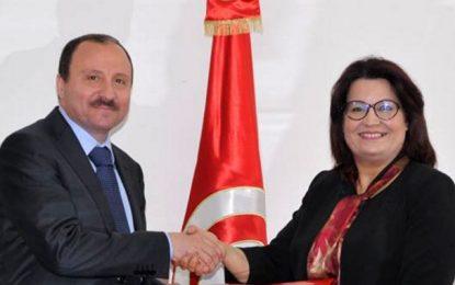Samira Merai soutient le 1er colloque ''Sfax pôle de santé africain''