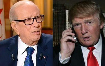 Entretien Caïd Essebsi-Trump: La coopération sécuritaire au centre des intérêts