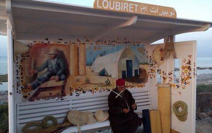 Djerba : A Ghizen, les abribus se déroulent comme des tableaux
