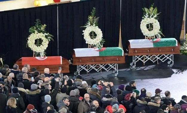 Funérailles de trois victimes à Montréal — Attentat de Québec