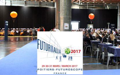 Le 21e forum Futurallia du 29 au 31 mars 2017 à Paris