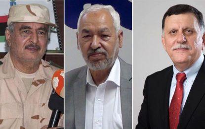 Libye: Ghannouchi prépare une rencontre à Tunis entre Al-Sarraj et Haftar