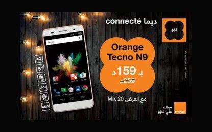 Smartphone 4G : Orange Tecno N9 à 159DT