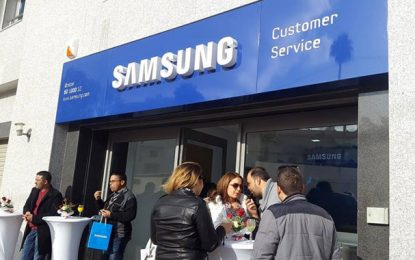 Inauguration à Sfax du 2e Samsung Customer Service Center
